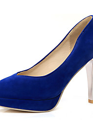 Women's Shoes Stiletto High Heel Round toe Platform Slip On Pump More Color Available
