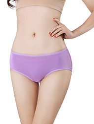 Women's Fashion Sexy Solid Seamless Panties Girls Cotton Spandex Briefs