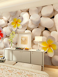 JAMMORY Art DecoWallpaper For Home Wall Covering Canvas Adhesive required Mural Simple White Stone XL XXL XXXL