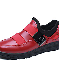 Running Shoes Unisex Sneakers Spring / Fall Comfort Tulle Athletic Flat Heel Black / Red /White Walking / Running