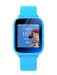 LEKEMI Kids Children GPS Tracker Watch Smartwatch with Touch Screen Live tracking SOS Call Google Map and Geofence Alarm Blue / Pink