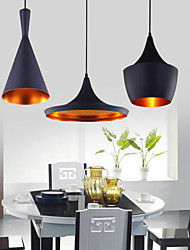 60 Pendant Light ,  Traditional/Classic Painting Feature for Mini Style Metal Bedroom Dining Room
