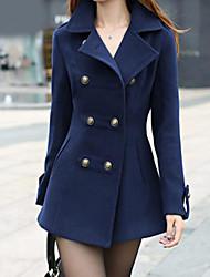 Muairen®Women'Fashion Casual Jacket Slim Wool Coat