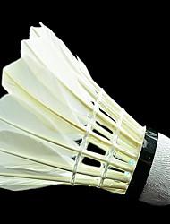 Bola de Badminton( DEPenas de Ganso,Branco) -Durabilidade