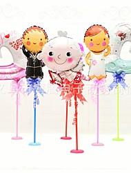 les noces de mariage hôtel banquet table de décoration de table ballon ballon confession valentine 1pcs robe mariée et le marié de mariage