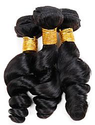 Tissages de cheveux humains Cheveux Vietnamiens Ondulation Lâche 12 mois 3 Pièces tissages de cheveux