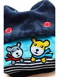 Hunde Mäntel Schwarz Rose Hundekleidung Winter Karton Niedlich