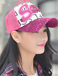 2017 Spring And Summer Of The New Wild Card Sequins Letters Outdoor Cap Leisure Cap Baseball Cap