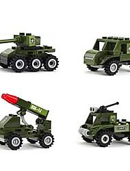 Kit Faça Você Mesmo para presente Blocos de Construir Brinquedos Originais Plástico 2 a 4 Anos 5 a 7 Anos 8 a 13 Anos Verde Brinquedos