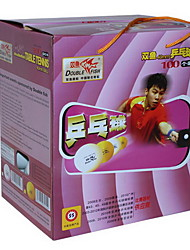 100pcs 3 Stars 4 Table Tennis Ball Yellow White Others Indoor Practise Leisure Sports