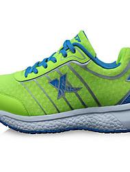 X-tep Běžecké boty Tenisky Pánské Protiskluzový Odolný proti opotřebení Ultra lehký (UL) Nositelný Outdoor Výkon Prodyšná síťovina Guma