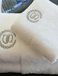 Toalha de LavarSólido Alta qualidade 100% Algodão Toalha