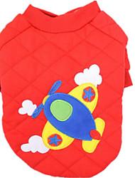 Hunde Pullover Rot Gelb Blau Hundekleidung Winter Frühling/Herbst Geometrisch Niedlich Lässig/Alltäglich