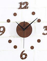 DIY Creativity Retro Mute Wall Clock