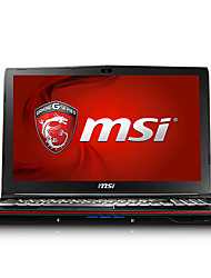 MSI gaming laptop GP62 backlit 15.6 inch Intel i7 Quad Core 8GB RAM 1TB 128GB SSD Windows10