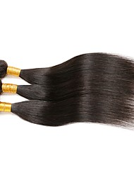 8A Unprocessed Indian straight virgin hair Remy human hair weave 3 bundles Indian virgin hair extensions Ali hair products