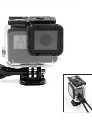 TELESIN Clear View Skeleton Open Side Protective Housing Case with Lens Compatible with Gopro Hero5 Cameras