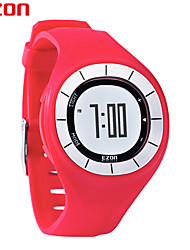 EZON Fashion Rubber Clock Women Colorful Watch Sports Running Watches Speed Pedometer Calories Counter Digital Wristwatch