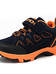 Boy's Athletic Shoes Fall / Winter Comfort PU Casual Flat Heel Lace-up Black / Green / Royal Blue / Orange Sneaker