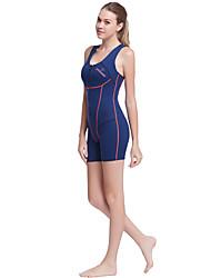 Dive&Sail Mujer 1,5 mm Dive Skins Traje de neopreno cortoImpermeable Mantiene abrigado Secado rápido Resistente a los UV Cremallera