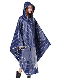 Fashion EVA Thick Fresh Green Electric Cars Bike Raincoat Poncho
