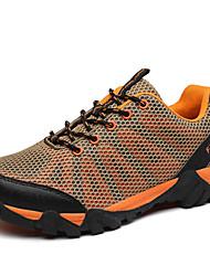 Sneakers Hiking Shoes Mountaineer Shoes Men'sAnti-Slip Anti-Shake/Damping Cushioning Ventilation Wearproof Fast Dry Waterproof Breathable