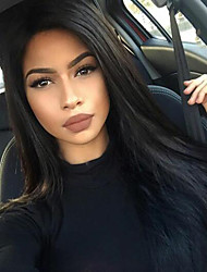 Full Lace  Wig Brazilian Virgin Human Hair Natural Straight Wig For African American Women