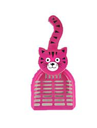 Chat Nettoyage Kits de toilettage Animaux de Compagnie Accessoires de Toilettage Portable Pourpre Plastique