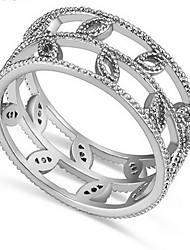 Jewelry Women Alloy Zircon Women Golden Hollow Ring