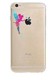 Назначение iPhone 8 iPhone 8 Plus iPhone 7 iPhone 7 Plus iPhone 6 Чехлы панели Ультратонкий С узором Задняя крышка Кейс для