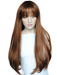 Women Wig Long Deep Wave Synthetic Wig Heat Resistant Hairstyle With Cap Cosplay Costume
