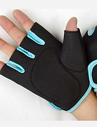 Fingerless Gloves Unisex Shockproof / Lightweight Cycling/Bike / Hunting / Climbing / Boxing / Martial art / Fitness / Taekwondo Black