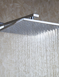 Bathroom Rain Top Shower Head / Brass / Chrome / 10 Inch / Contemporary