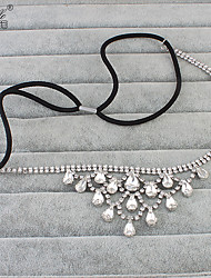 Crystal Alloy Headpiece-Wedding Headbands 1 Piece