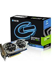 Galaxy Video Graphics Card GTX750Ti 1189MHz/5400MHz2GB/128 bit GDDR5