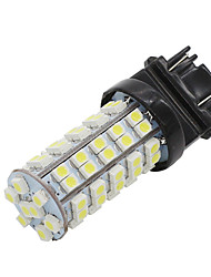4x 68smd branco 3528 levou t25 1157 BAY15D lâmpada de luz sinal de parada do freio lâmpadas nova