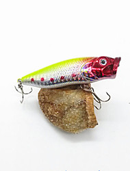 3 pcs Fishing Lures Hard Bait Yellow Red g/Ounce mm inch,Hard Plastic General Fishing
