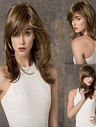 Medium Length Heat Resistant Synthetic Wig Women Hair/Wig Fashion Style for Black Women