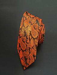 Галстук(Коричневый,Полиэстер)Узор