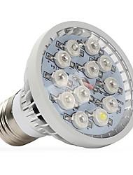 12W E14 GU10 E27 LED Grow Lights 12 High Power LED 290-330 lm Warm White UV (Blacklight) Red Blue AC85-265 V 1 pcs