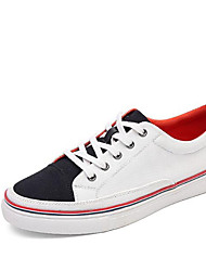 Men's Sneakers Winter Leatherette Casual Red