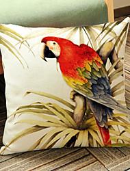1 pçs Linho Fronha,Estampado Animal Moderno/Contemporâneo