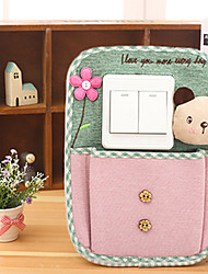 1Pcs 19Cm*26Cm Cloth Art Switch Decoration Cartoon Pastoral Pure And Fresh  Decorates A Wall Switch