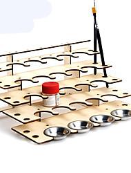 titular ferramenta de pintura estrutura de madeira é recebido