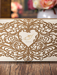 10 Pieces Wedding Invitations Cards CW5018