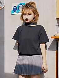 Inscrivez-vous au printemps et à l'été 2017 version coréenne d'un t-shirt à manches courtes personnalisé