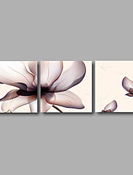 Stretched Canvas Print Abstract Modern Three Panels Canvas Wall Decor Home Decoration 72inches x24inches Brown