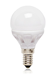 4.5W E14 Ampoules Globe LED G45 14 SMD 2835 416 lm Blanc Naturel AC 100-240 V 1 pièce