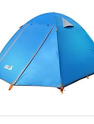other 3 a 4 Personas Tienda Carpa para camping Otro Resistente a la lluvia-Camping-Azul Real