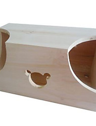 Rodents Hutches Wood Beige